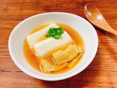 豆腐と油揚げの煮物