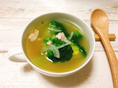 ブロッコリーのスープの写真