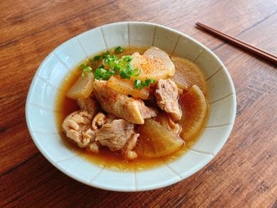 白だしで簡単!味しみ抜群!鶏肉と大根の煮物