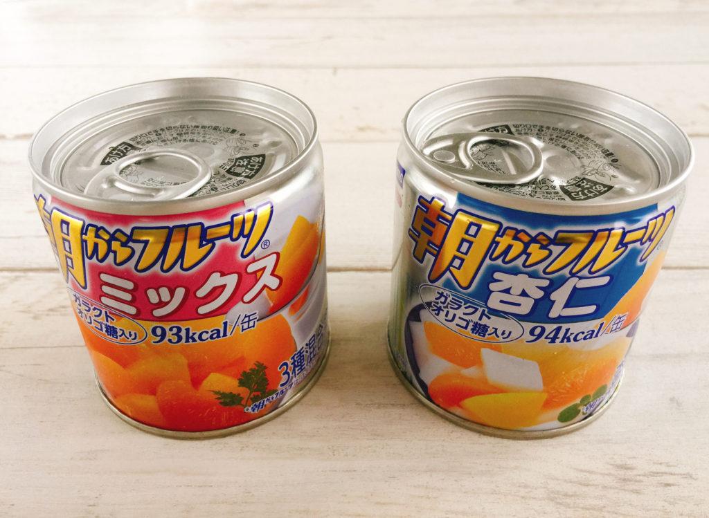 フルーツミックス缶