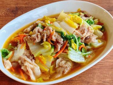 豚肉と白菜の八宝菜風