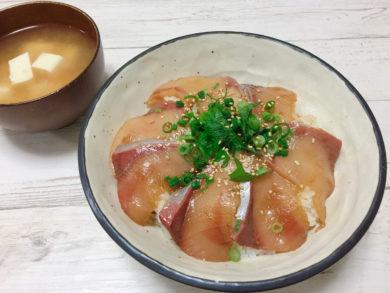 5分で出来る海鮮丼とタレの作り方・レシピ