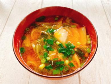 キムチ味噌汁
