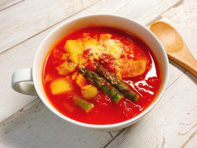ミネストローネ(トマトスープ)